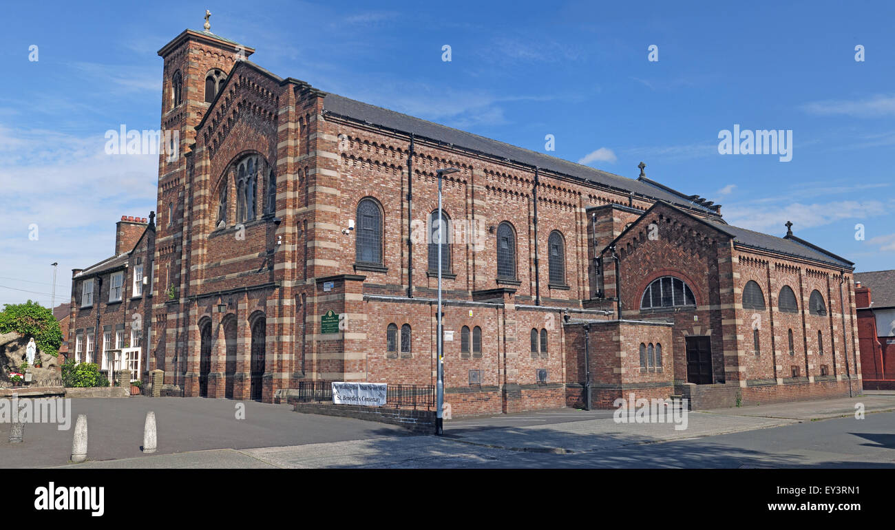 St Benedict,Catholic Church,Orford,Warrington,Cheshire,England,UK - Stock Image