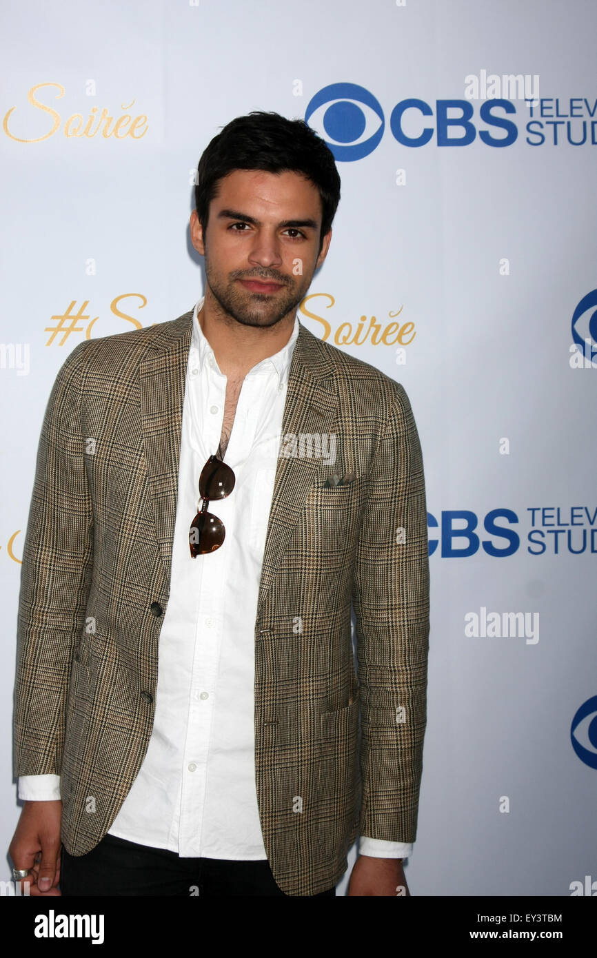 CBS Summer Soiree  Featuring: Sean Teale Where: Los Angeles, California, United States When: 18 May 2015 - Stock Image