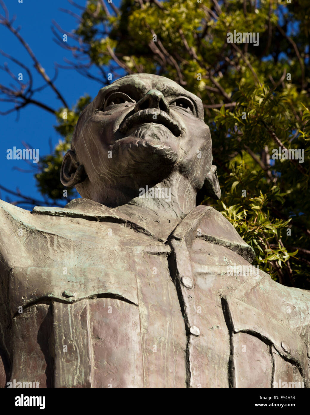 Statue of Jan Smuts Company's Park Cape Town South Africa - Stock Image