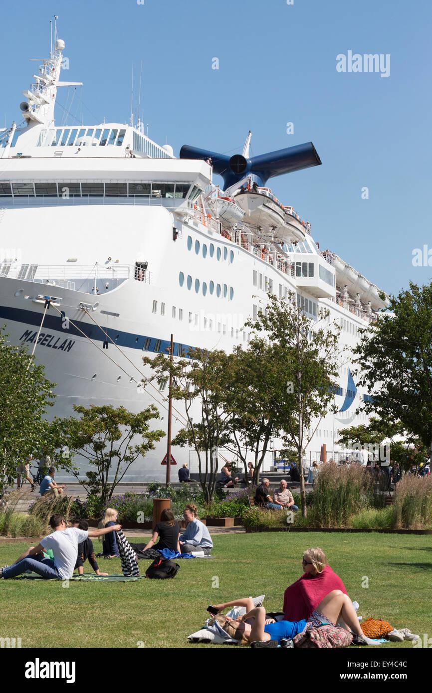 Cruise & Maritime Voyages' cruise ship Magellan. Stock Photo