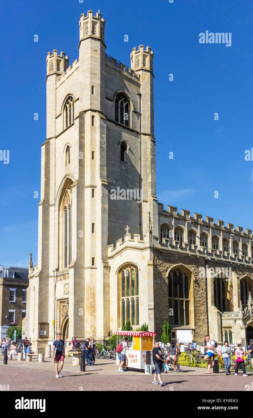 Great St Marys Church Cambridge Cambridgeshire England UK GB EU Europe - Stock Image