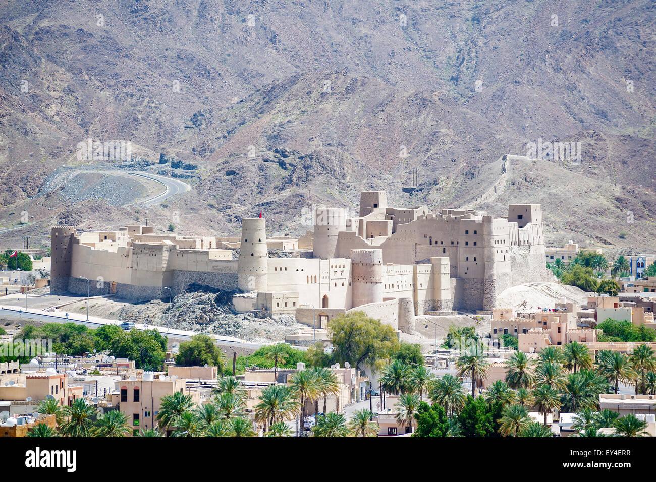 Fort Bahla in Sultanate of Oman Middle East - Stock Image