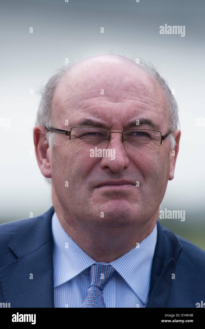 European Commissioner for Agriculture and Rural Development Phil Hogan. - Stock Image
