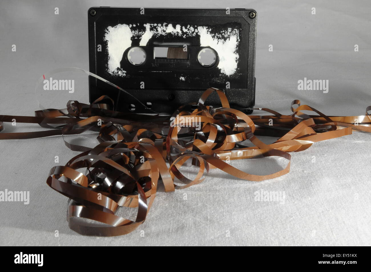 Vintage Musicassette Stock Photo