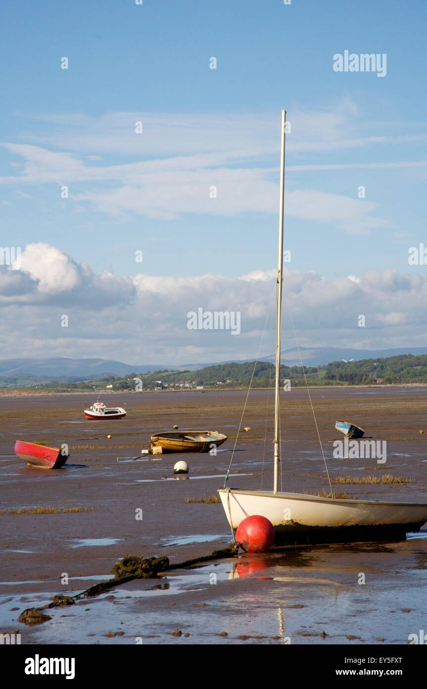 Morecambe Bay And Low Tide Stock Photos and Images