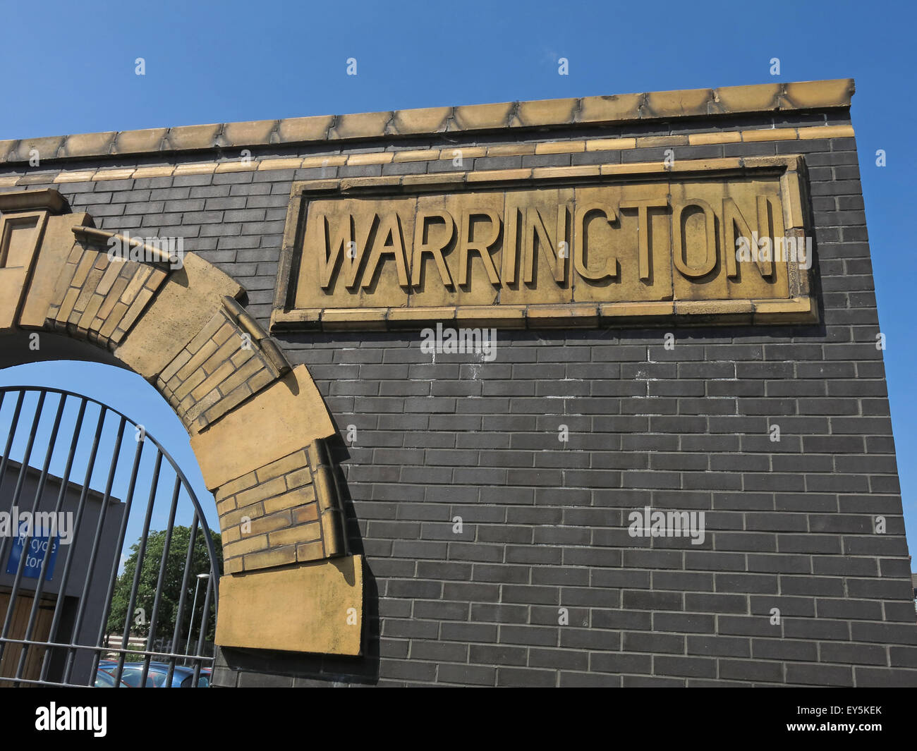 Bath St,Warrington Hospitals NHS Trust,Cheshire,England,UK - Stock Image