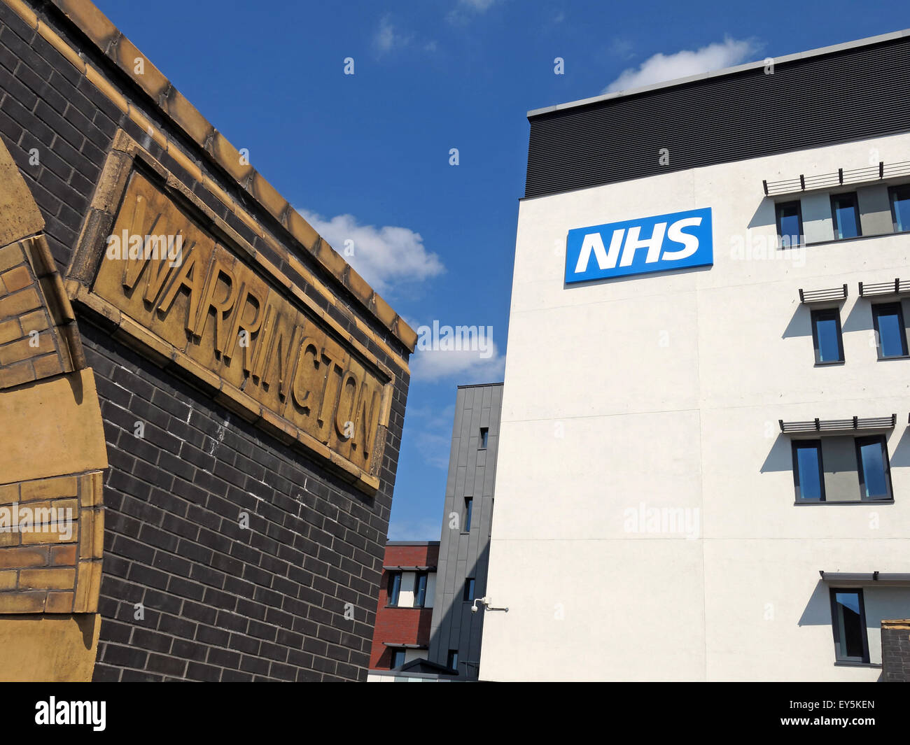 Bath St,Warrington Hospitals NHS Trust,Cheshire,England,UK Stock Photo