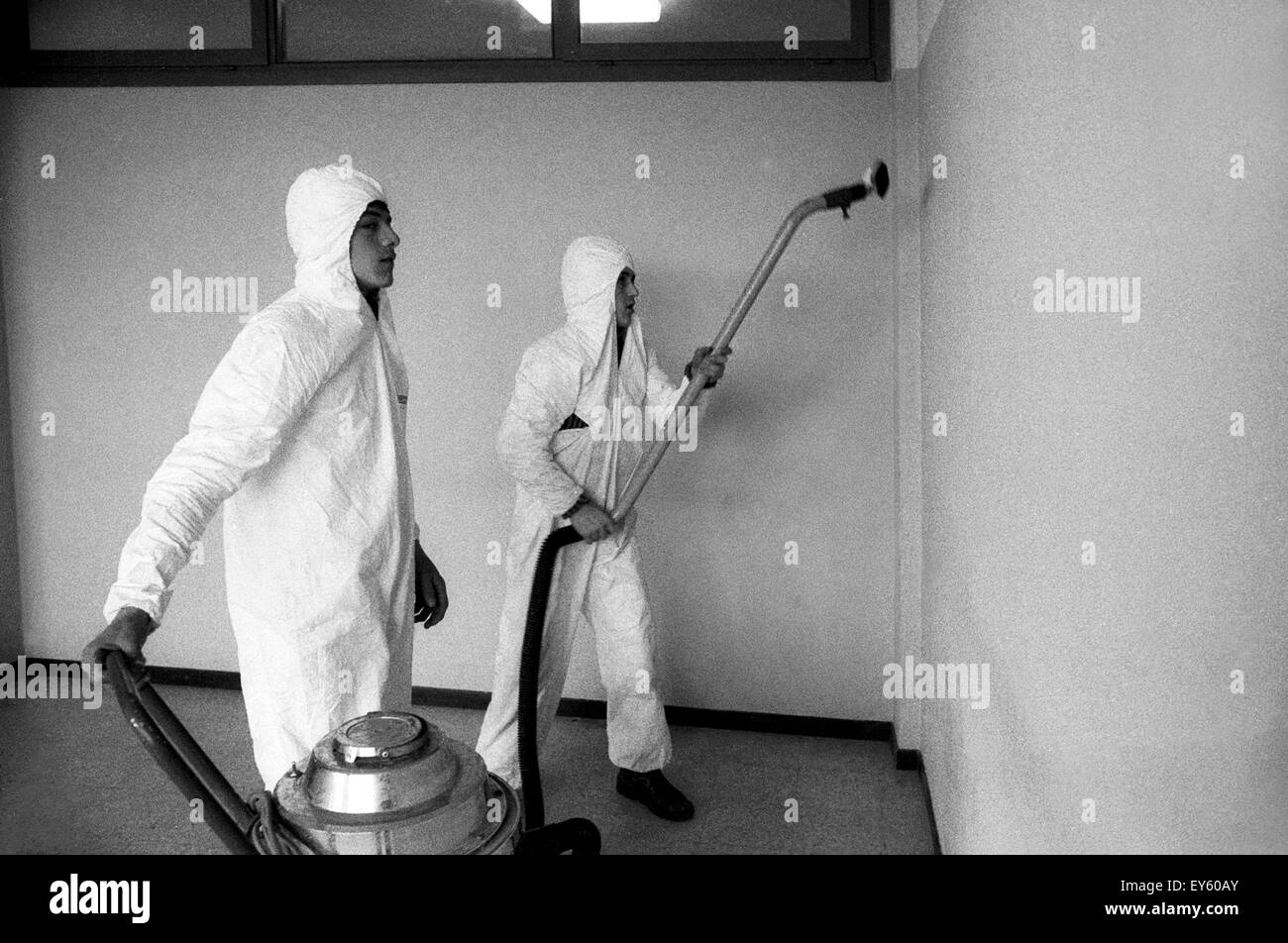 Italian Style Factory Seveso Mb decontamination black and white stock photos & images - alamy