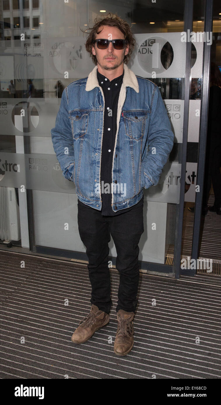 Ben Howard At The Bbc Radio 1 Studios To Perform On The Live Lounge Stock Photo Alamy