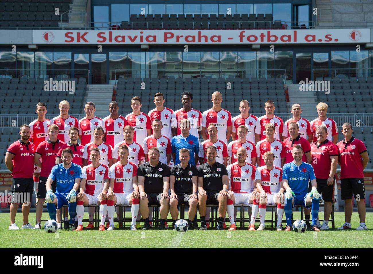 Sk Slavia Image: SK Slavia Prague, Czech Soccer League Season 2015/2016
