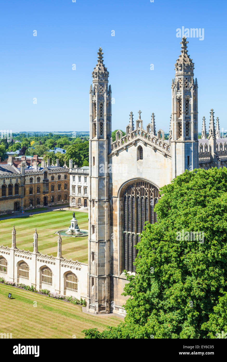 Kings College Chapel Cambridge University Cambridgeshire England UK GB EU Europe - Stock Image