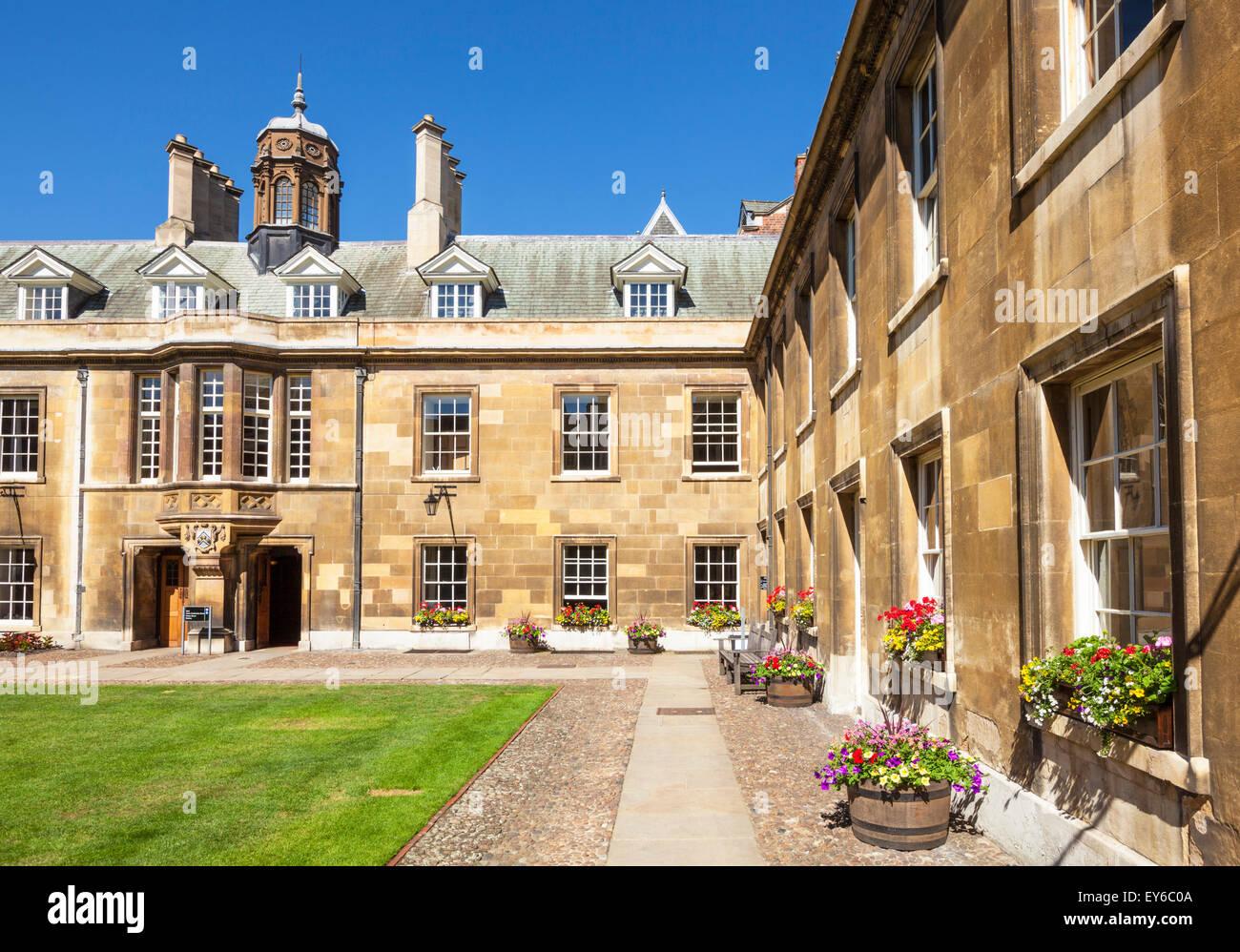Gonville court at Gonville and Caius college Cambridge university Cambridge Cambridgeshire England UK GB EU Europe - Stock Image