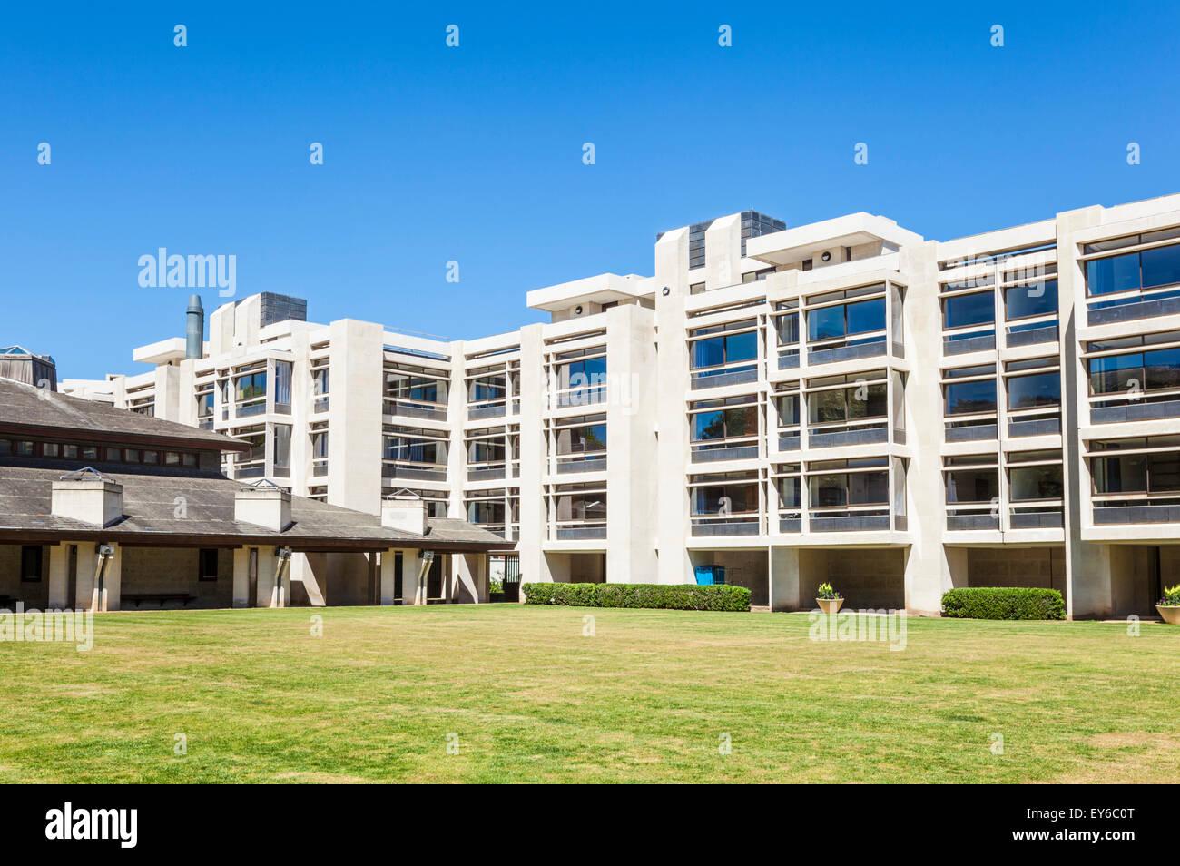 The Cripps Building St Johns college Cambridge university Cambridge Cambridgeshire England UK GB EU Europe - Stock Image