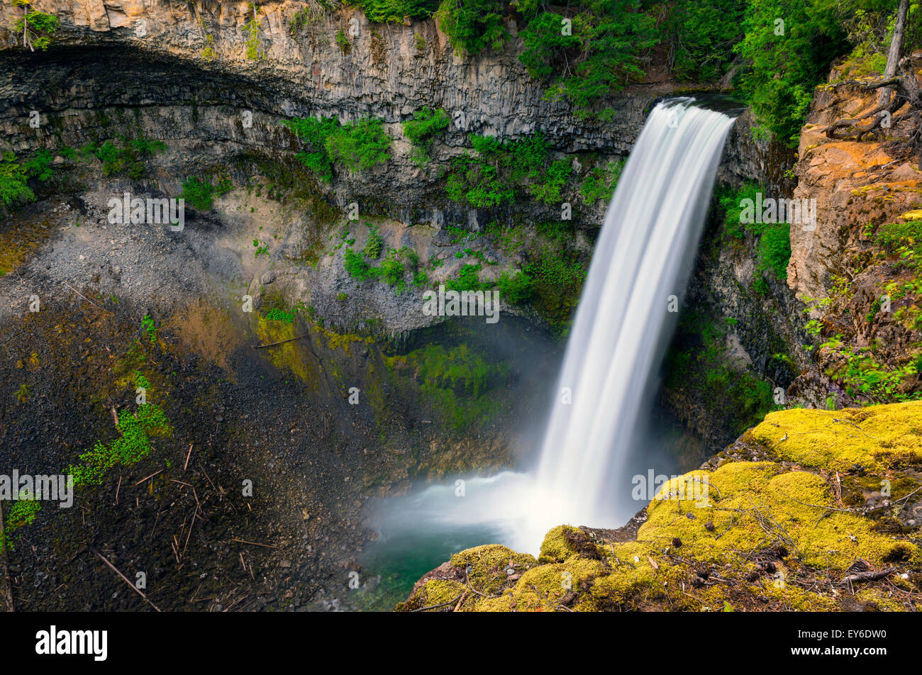Brandywine Falls, Whistler, BC, Canada - Stock Image