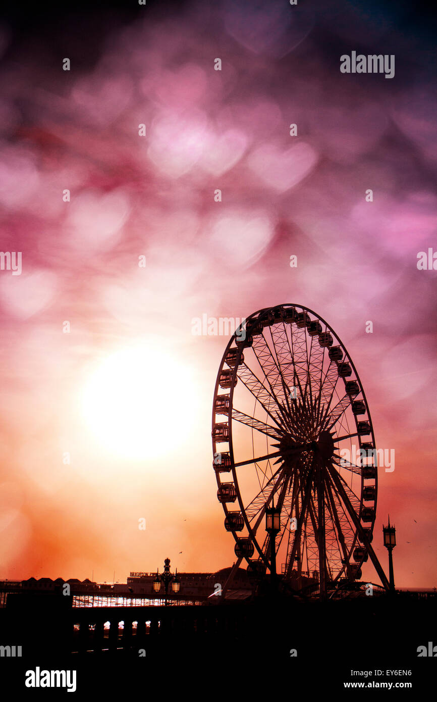 Brighton Wheel, Brighton, East Sussex, UK © Clarissa Debenham / Alamy - Stock Image