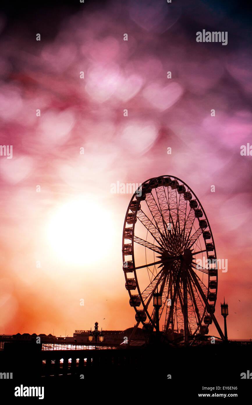 Brighton Wheel, Brighton, East Sussex, UK © Clarissa Debenham / Alamy - Stock Image