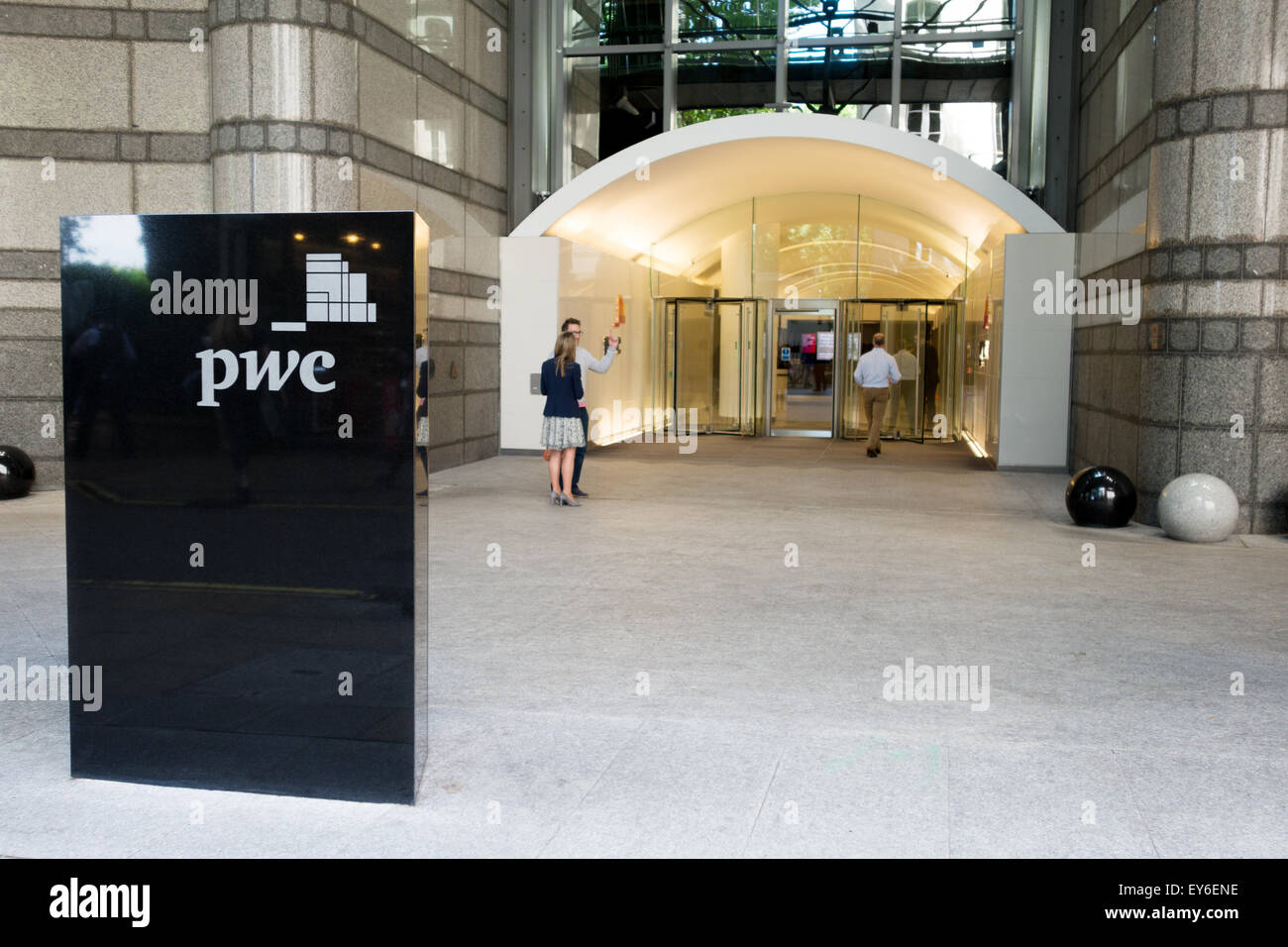 London headquarters of the accountancy firm Price Waterhouse Coopers, one of the Big Four accounting firms;   PwC - Stock Image