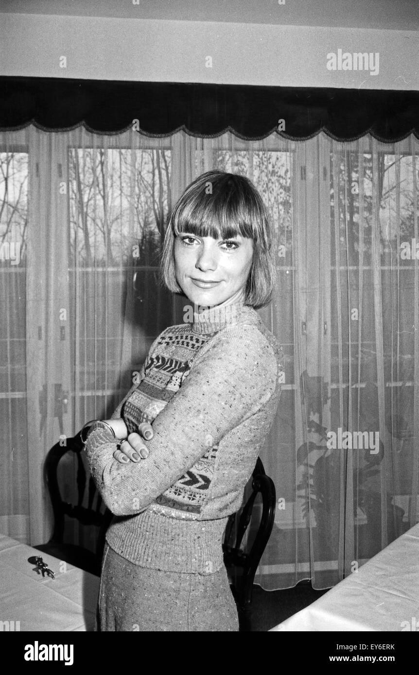 Deutsche Schauspielerin Judy Winter, Deutschland 1970er