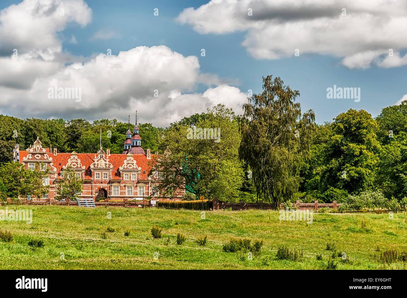 Vrams Gunnarstorp Slott situated in the Skane region of Sweden. - Stock Image