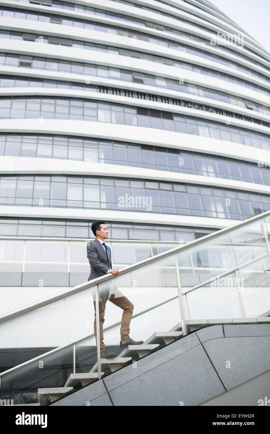 cool office buildings. Perfect Office Businessman Standing In Front Of Office Building  Stock Image To Cool Office Buildings I
