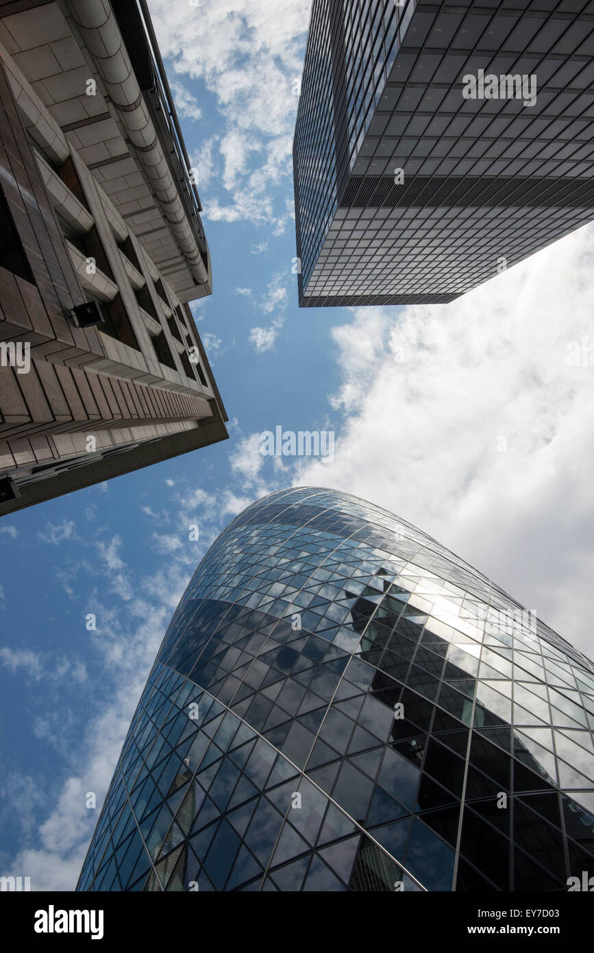 The Financial District, London England UK - Stock Image