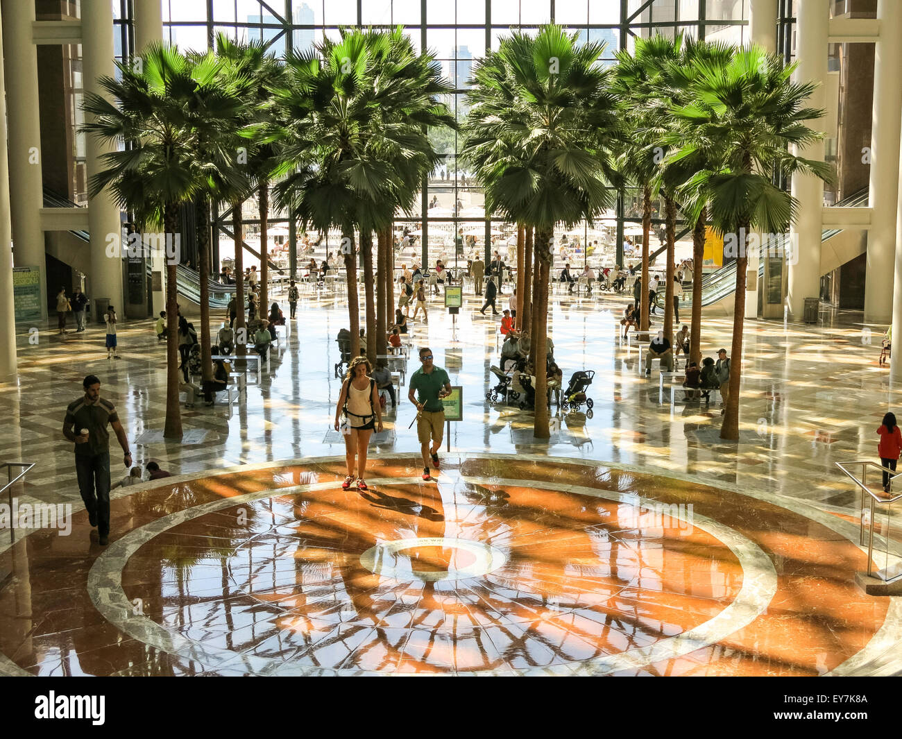 the winter garden atrium brookfield place in battery park city nyc usa - Winter Garden Nyc