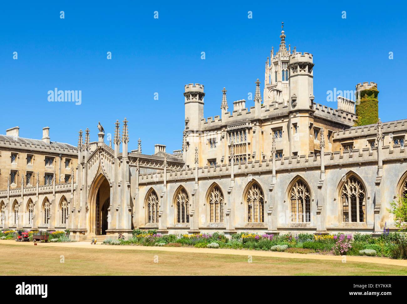New Court St Johns College Cambridge university Cambridge Cambridgeshire England UK GB EU Europe - Stock Image