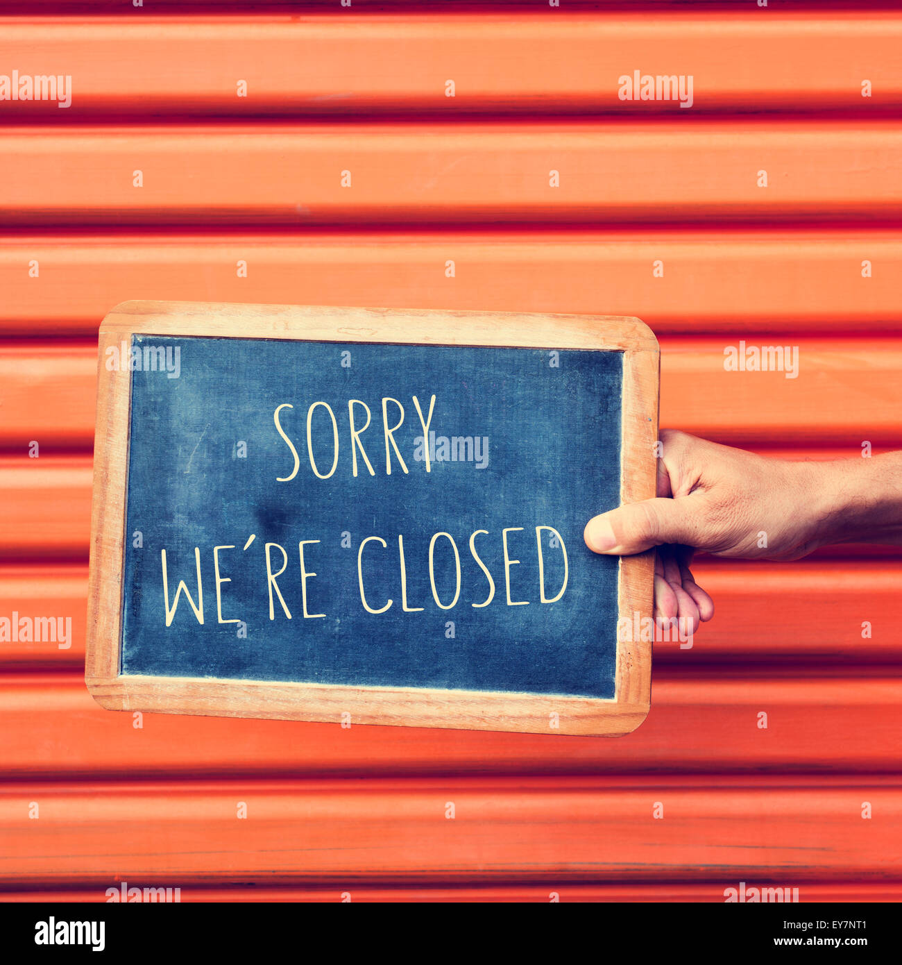 Sorry We're Closed Stock Photos & Sorry We're Closed Stock