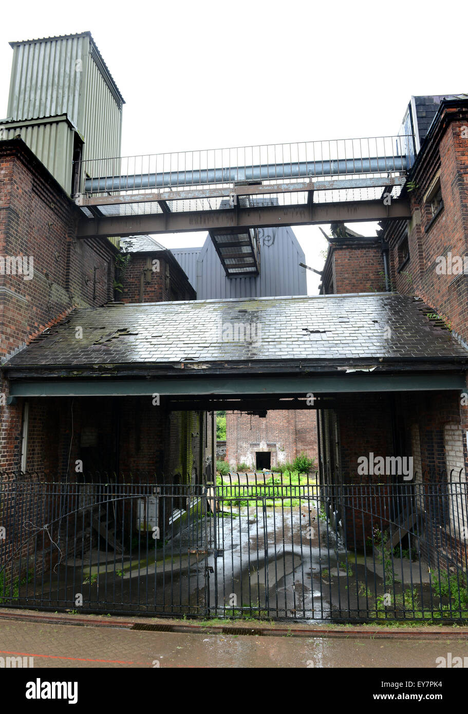 Langley Maltings Grade II-listed Victorian structure in Oldbury West Midlands Uk - Stock Image