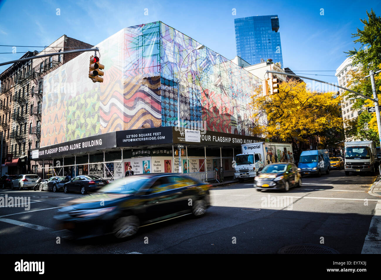 New York streetscene - Stock Image