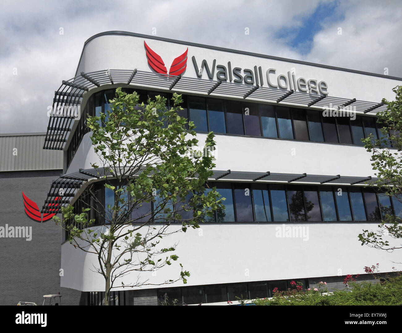 Walsall New College Building, West Midlands, England, UK - Stock Image