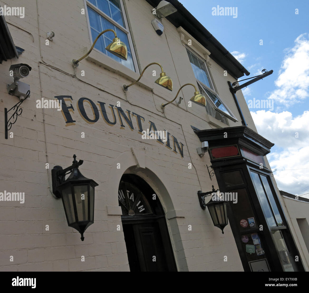 The Fountain Tavern,Backyard Brewhouse, 49 Lower Forster St, Walsall, West Midlands WS1 1XB Stock Photo