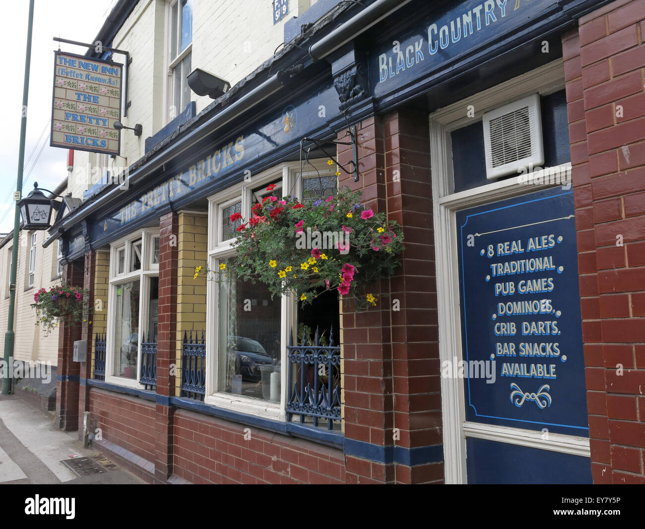 The Pretty Bricks Pub, Walsall, Black Country, West Midlands, England, UK - Stock Image
