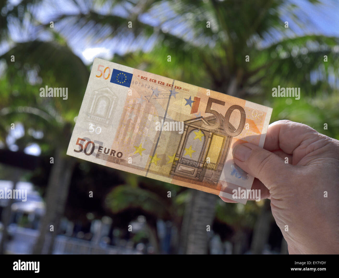 Fifty Euro Note Stock Photos & Fifty Euro Note Stock Images