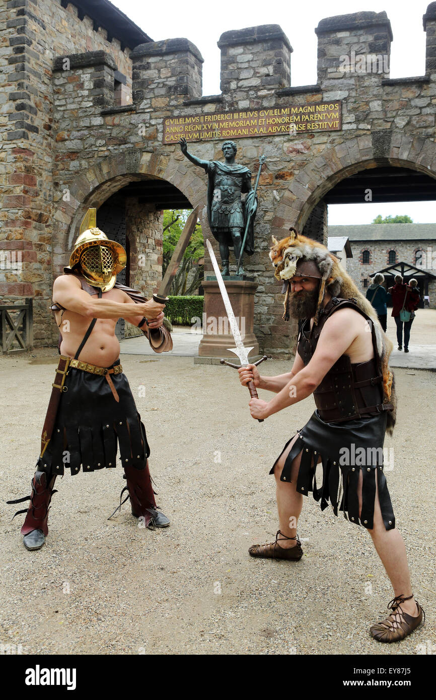 Fight Scenes Are Like Learning A Dance You Learn It Move: Gladiator Roman Fight Stock Photos & Gladiator Roman Fight