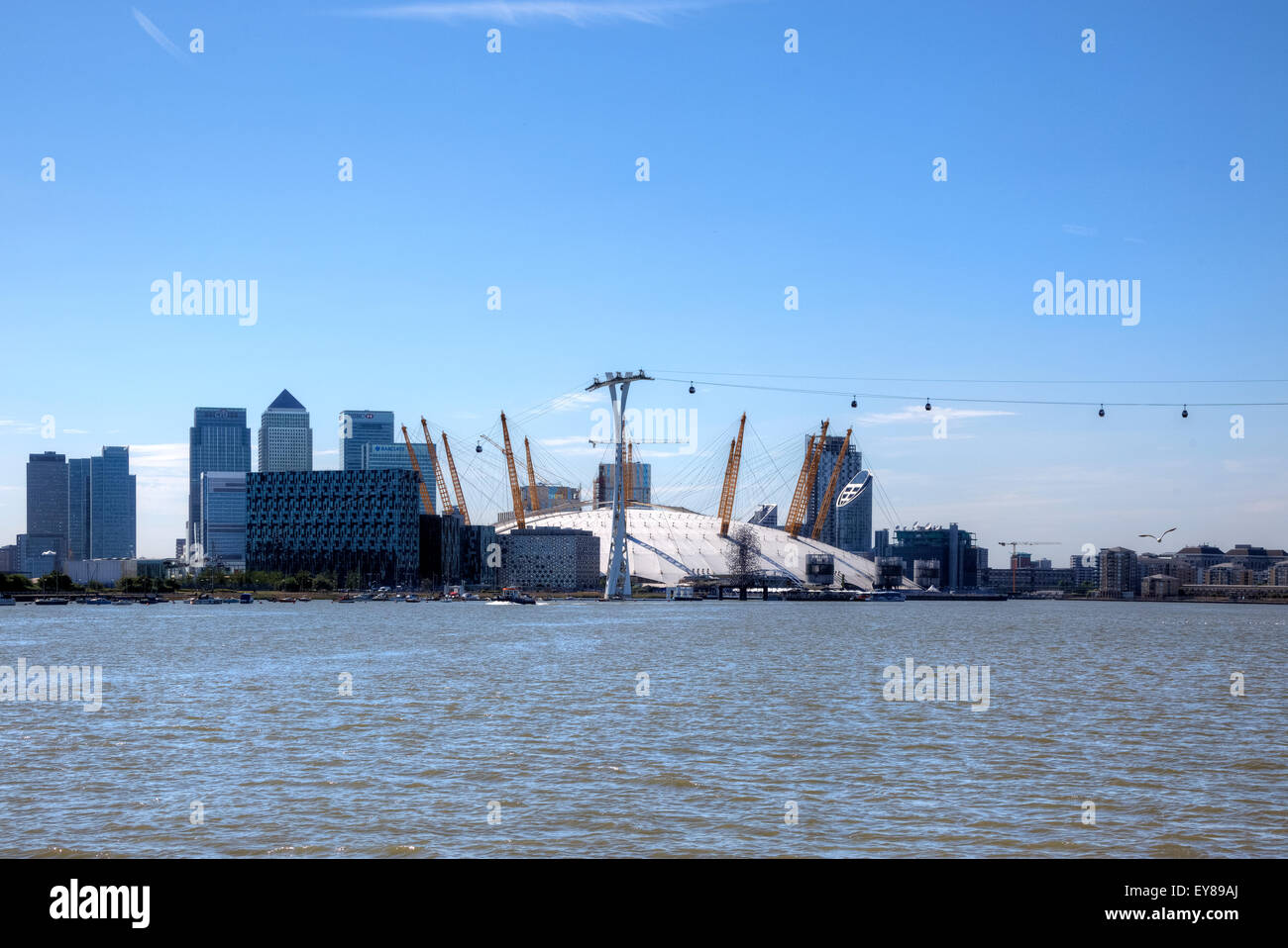 The O2 Arena, Greenwich, London, England, United Kingdom Stock Photo