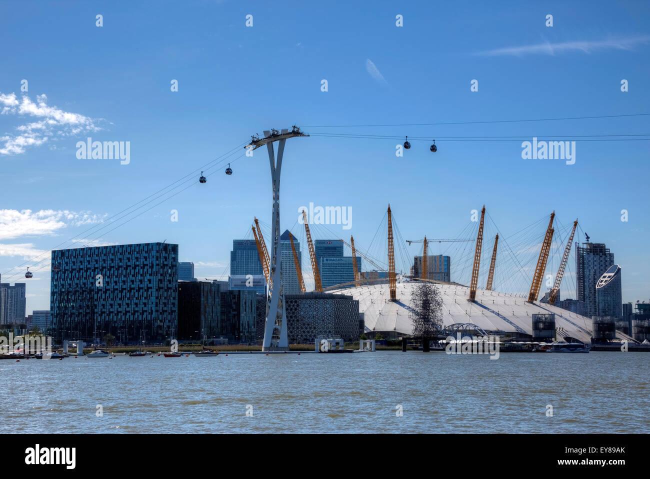 The O2 Arena, Greenwich, London, England, United Kingdom - Stock Image