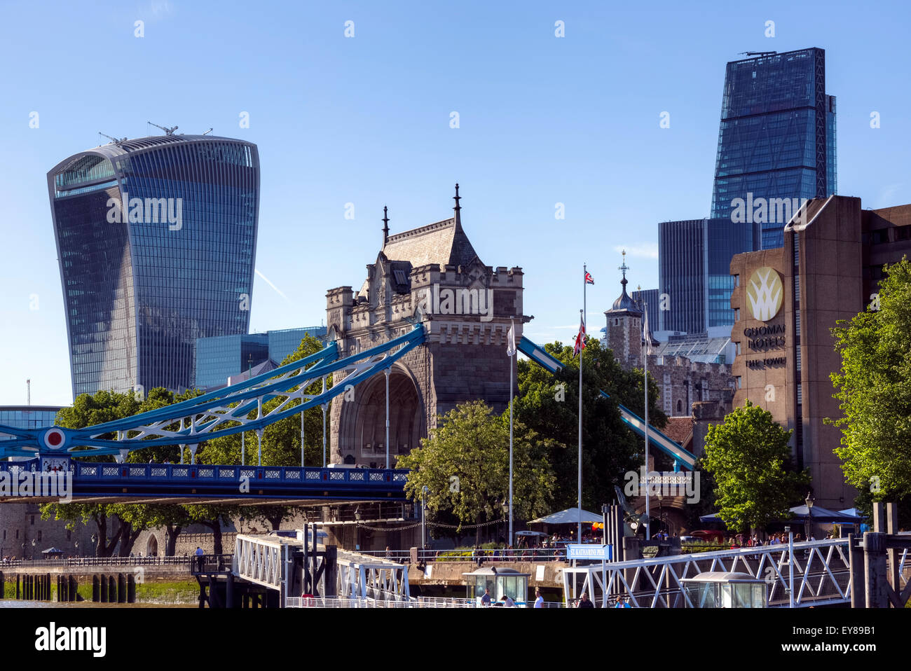 City of London, England, United Kingdom - Stock Image