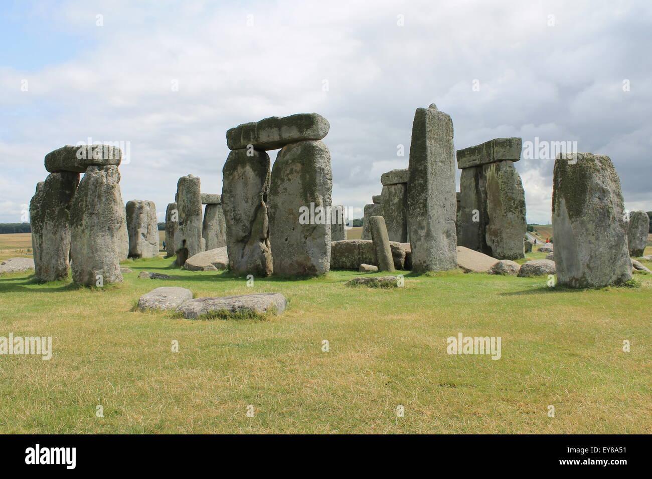Stonehenge, Wiltshire, England, UK Stock Photo