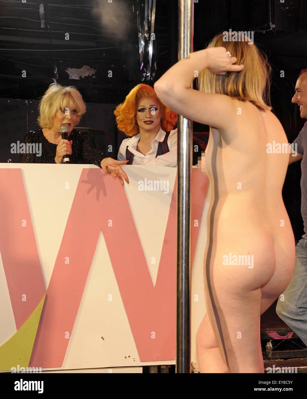 String bikini models nude