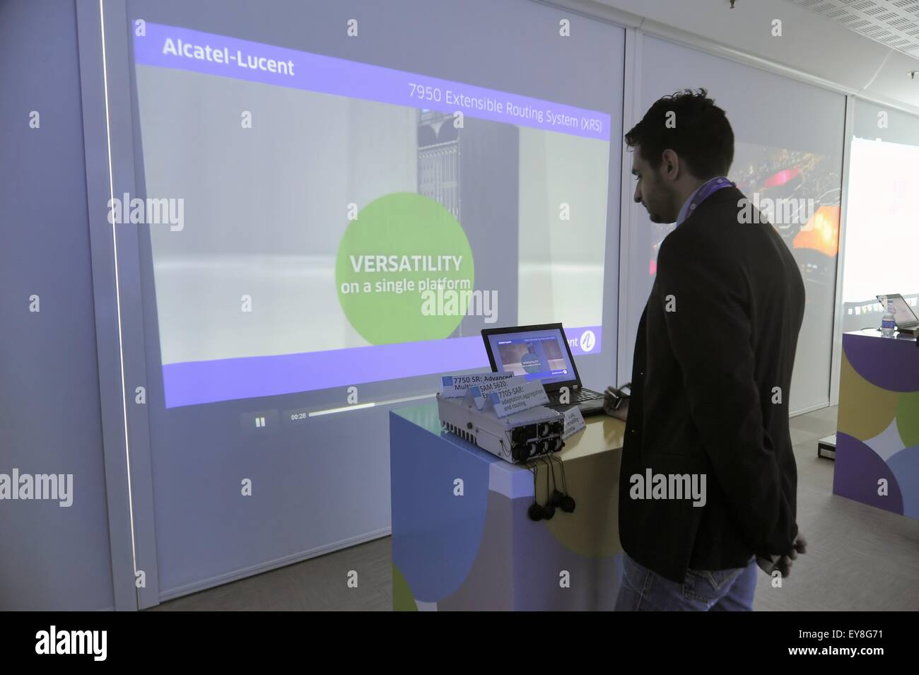 Alcatel Lucent Stock Photos & Alcatel Lucent Stock Images - Alamy
