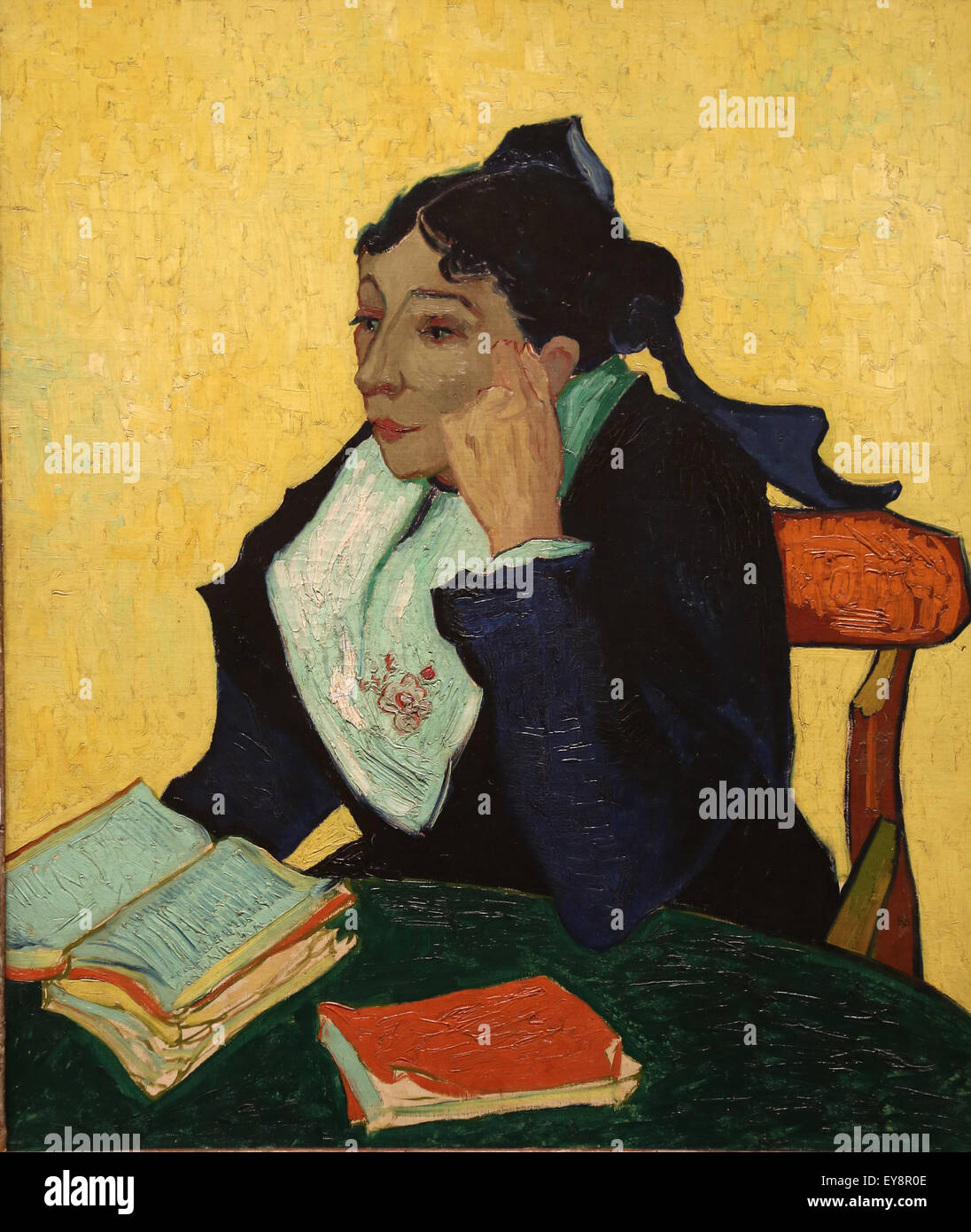 Vincent van Gogh (1853-1890).  Dutch painter. L'Arlesienne: Madame Joseph-Michel Ginoux (Marie Julien, 1848 - Stock Image