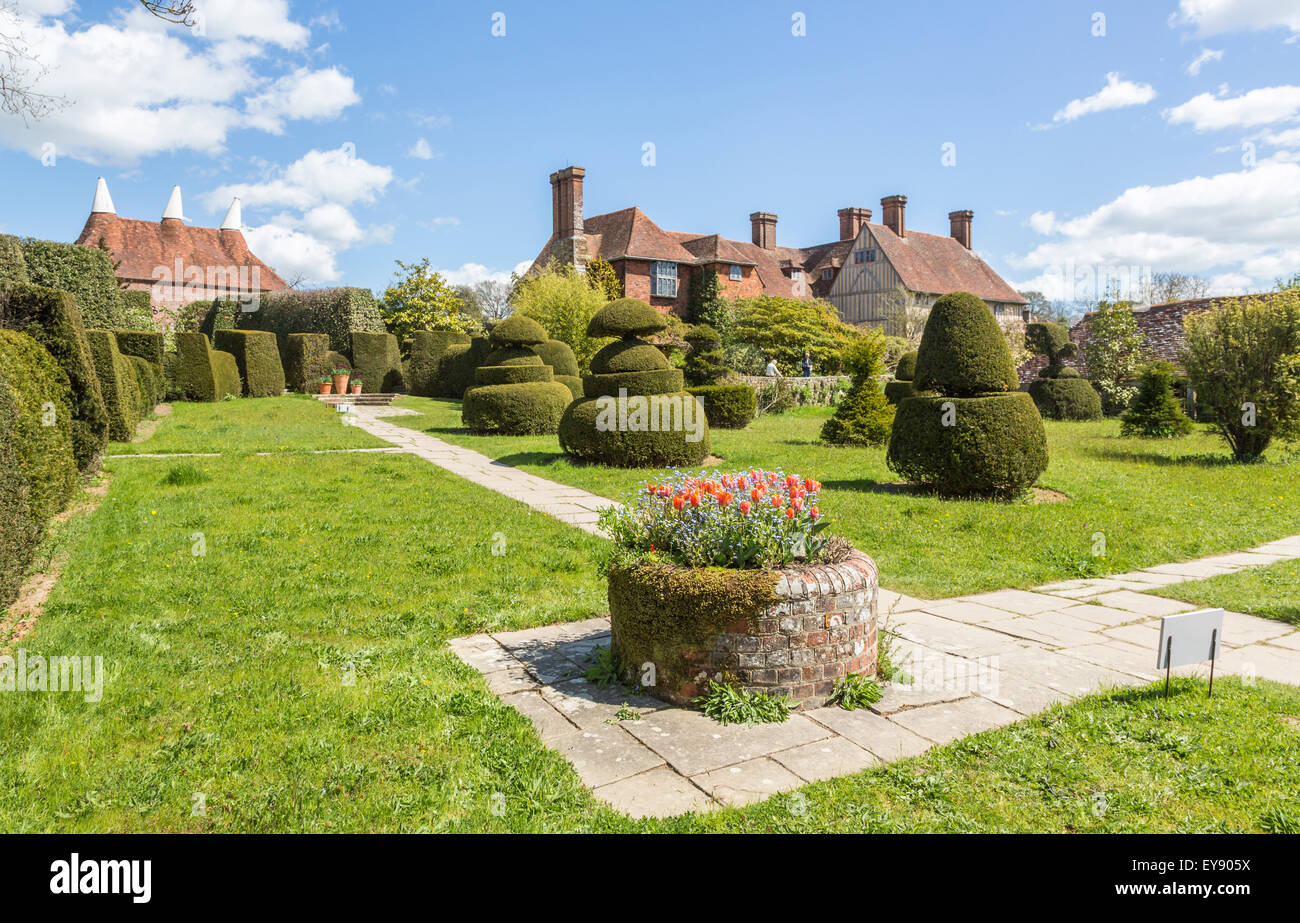 Gardens And Topiary At Great Dixter A Country House By Edwin