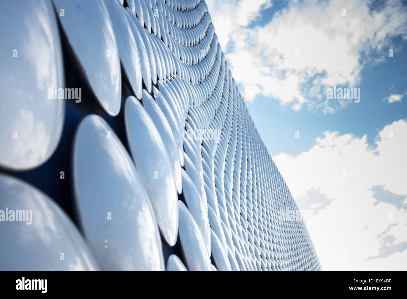 Exterior of the Selfridges building at the Bullring shopping centre in central Birmingham - Stock Image