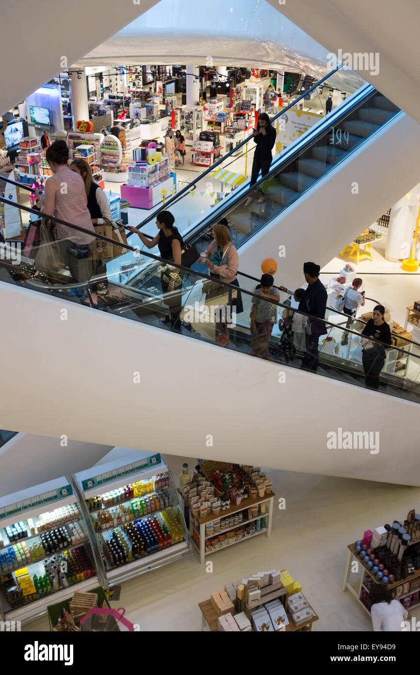 Selfridges Department Store at the Bullring Shopping Centre in Birmingham City Centre - Stock Image