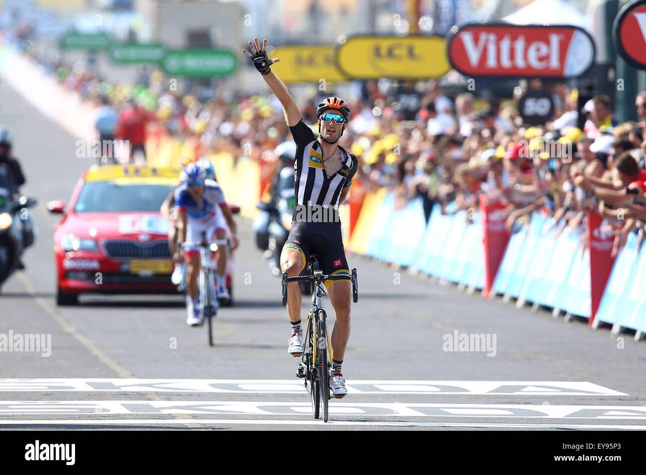Victoire Stephen Cummings - MTN Qhubeka - 18 07 2015 - Tour
