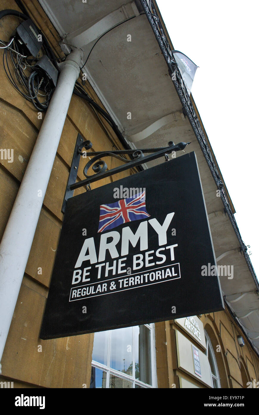 Army Air Force Navy careers office Oxford UK - Stock Image
