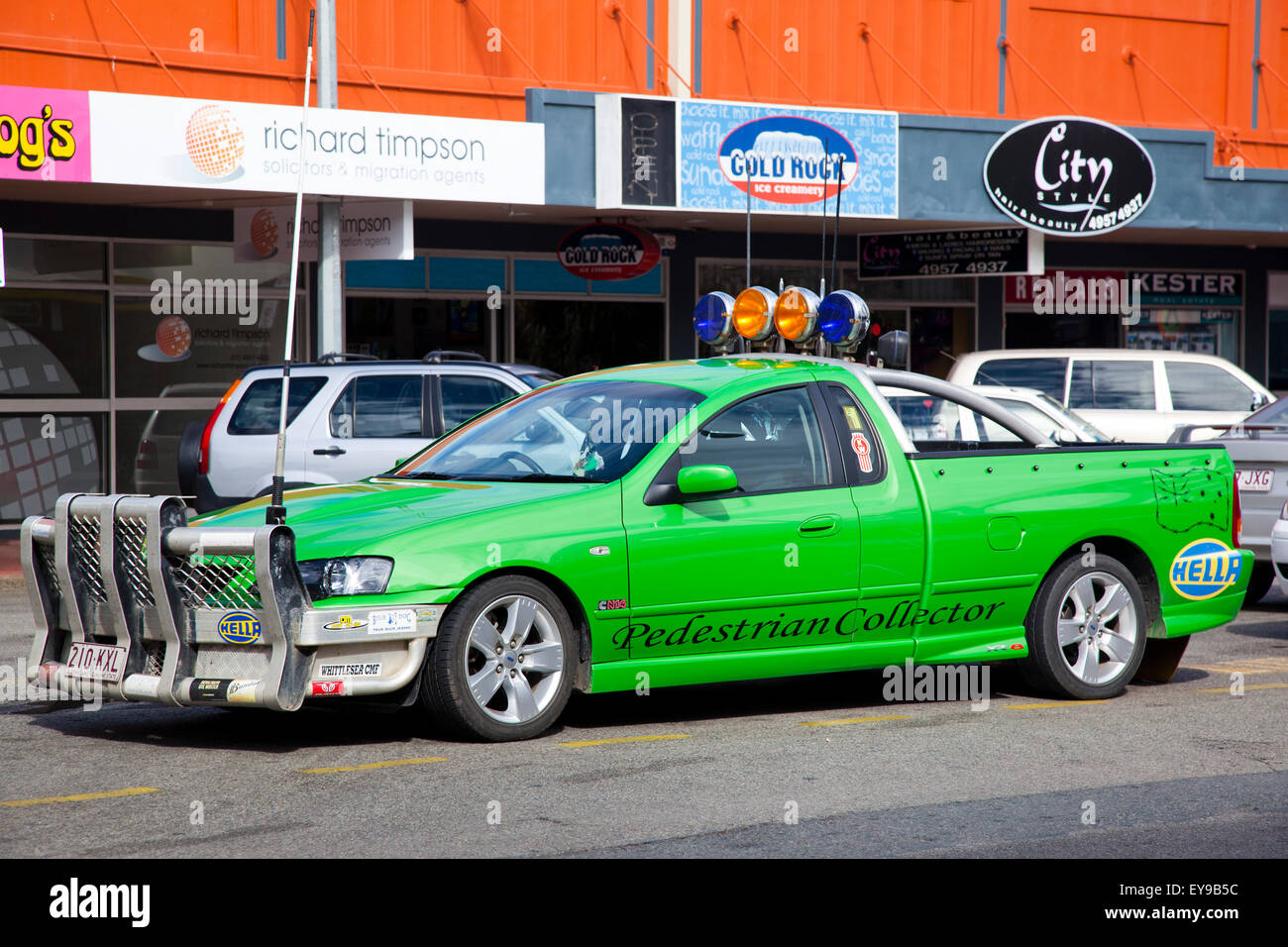 Australia, Queensland, Mackay, fancy Queensland Pickup - Stock Image
