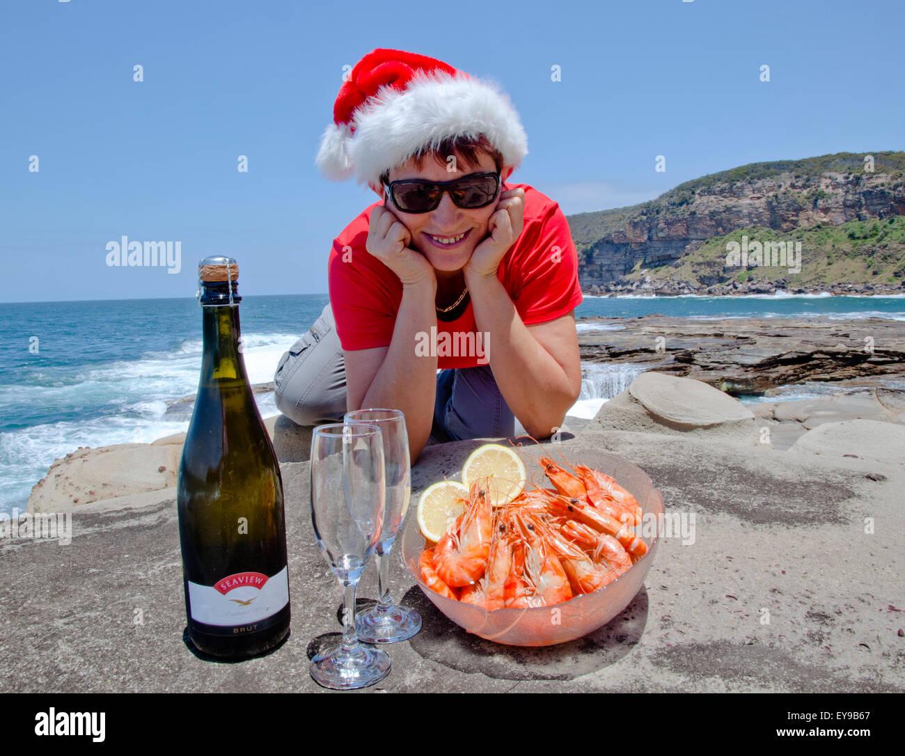 Christmas In Australia Santa.Christmas Australia Santa Stock Photos Christmas Australia