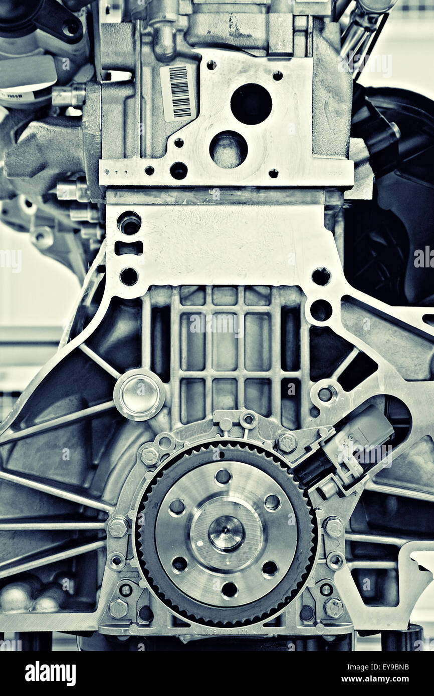 gear in a motor - Stock Image